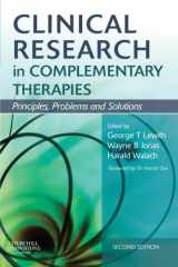 Clinical Research in Complementary Therapies: Principles, Problems and Solutions, 2e