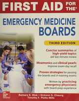 First Aid for the Emergency Medicine Boards 3rd Edition
