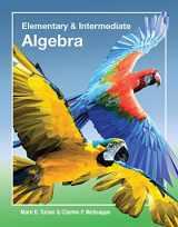 9781630980658-163098065X-Elementary & Intermediate Algebra with Access Code