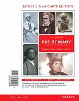 9780134138343-0134138341-Out of Many: A History of the American People, Volume 1, Books a la Carte Edition Plus REVEL -- Access Card Package (8th Edition)