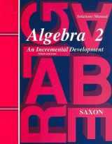 9781565771437-1565771435-Algebra 2 An Incremental Development