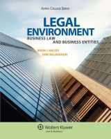 9780735568105-0735568103-Legal Environment: Business Law and Business Entities (Aspen College)