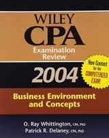 Wiley CPA Examination Review 2004, Business Environment and Concepts