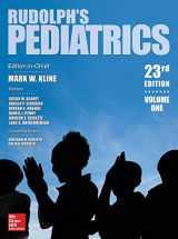 9781259588594-1259588599-Rudolph's Pediatrics, 23rd Edition