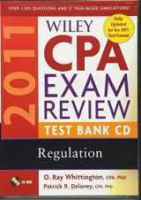 Wiley CPA Exam Review 2011 Test Bank CD , Regulation