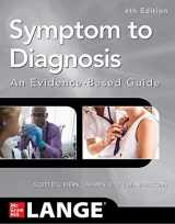 9781260121117-1260121119-Symptom to Diagnosis An Evidence Based Guide, Fourth Edition
