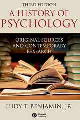9781405177108-1405177101-A History of Psychology: Original Sources and Contemporary Research