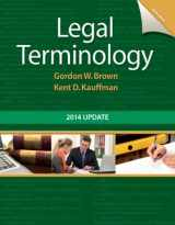 9780133766974-0133766977-Legal Terminology: 2014 Update (6th Edition)