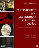 9781483350707-1483350703-Administration and Management in Criminal Justice: A Service Quality Approach (Volume 2)