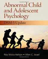 9780133766981-0133766985-Abnormal Child and Adolescent Psychology