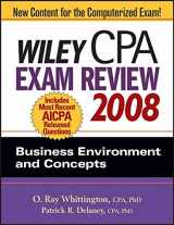 Wiley CPA Exam Review 2008: Business Environment and Concepts (Wiley CPA Examination Review: Business Environment & Concepts)