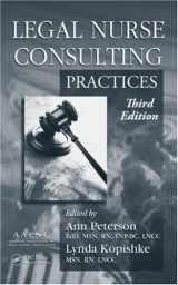 9781420089479-1420089471-Legal Nurse Consulting, Third Edition (2 Volume Set)