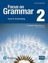 9780134583280-0134583280-Focus on Grammar 2 with Essential Online Resources (5th Edition)