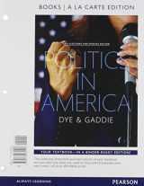 Politics in America, 2014 Elections and Updates Edition, Books A La Carte (10th Edition)