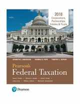 9780134550923-0134550927-Pearson's Federal Taxation 2018 Corporations, Partnerships, Estates & Trusts