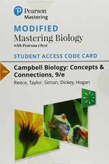 9780134641683-013464168X-Modified Mastering Biology with Pearson eText -- Standalone Access Card -- for Campbell Biology: Concepts & Connections (9th Edition)