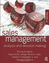 9780765644510-0765644517-Sales Management: Analysis and Decision Making