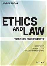 9781119157069-1119157064-Ethics and Law for School Psychologists