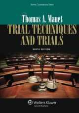 9781454822332-1454822333-Trial Techniques, Ninth Edition (Aspen Coursebooks)