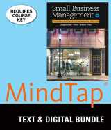 Bundle: Small Business Management: Launching & Growing Entrepreneurial Ventures, Loose-Leaf Version, 18th + MindTap Management, 1 term (6 months) Printed Access Card