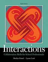 9780134168548-0134168542-Interactions: Collaboration Skills for School Professionals, Enhanced Pearson eText with Loose-Leaf Version -- Access Code Package (8th Edition) (What's New in Special Education)