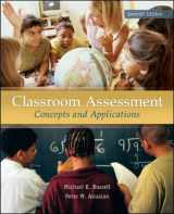 9780078110214-0078110211-Classroom Assessment: Concepts and Applications, 7th Edition
