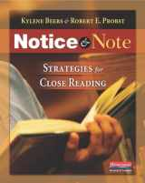 9780325046938-032504693X-Notice & Note: Strategies for Close Reading