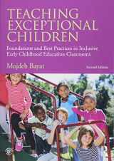 9781138802209-1138802204-Teaching Exceptional Children: Foundations and Best Practices in Inclusive Early Childhood Education Classrooms
