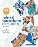 9780134678863-0134678869-Technical Communication: Process and Product, MLA Update (9th Edition)
