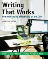 9781319104467-1319104460-Writing That Works: Communicating Effectively on the Job