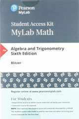 9780134758848-0134758846-MyMathLab with Pearson eText -- Standalone Access Card -- for Algebra and Trigonometry (6th Edition)