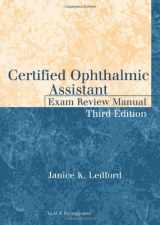 9781617110580-1617110582-Certified Ophthalmic Assistant Exam Review Manual
