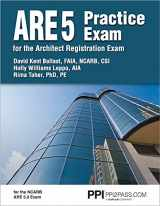 9781591265177-1591265177-PPI ARE 5 Practice Exam for the Architect Registration Exam, 1st Edition (Paperback) - Comprehensive Practice Exam for the NCARB 5.0 Exam