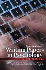 9781111726133-1111726132-Writing Papers in Psychology