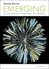 9781457697968-1457697963-Emerging: Contemporary Readings for Writers