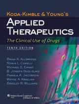 9781609137137-1609137132-Koda-Kimble and Young's Applied Therapeutics: The Clinical Use of Drugs