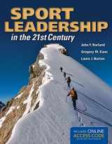 9781284034158-1284034151-Sport Leadership in the 21st Century