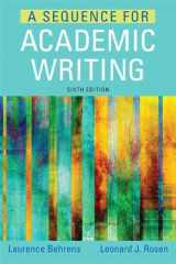 A Sequence for Academic Writing (6th Edition)