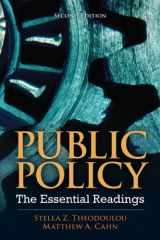 9780205856336-0205856330-Public Policy: The Essential Readings (2nd Edition)
