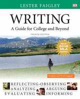 9780134586359-0134586352-Writing: A Guide for College and Beyond, MLA Update Edition (4th Edition)