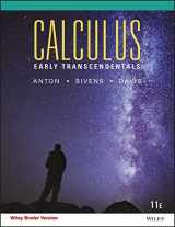 9781119228509-1119228506-Calculus Early Transcendentals 11e Binder Ready Version + WileyPLUS Registration Card