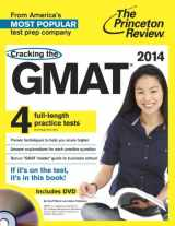 Cracking the GMAT with 4 Practice Tests & DVD, 2014 Edition (Graduate School Test Preparation)