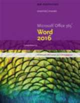 9781305880979-1305880978-New Perspectives Microsoft Office 365 & Word 2016: Comprehensive