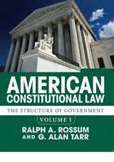 9780813349961-0813349966-American Constitutional Law, Volume I
