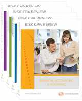 Bisk CPA Review: 4-Volume Set - 44th Edition 2015 (Comprehensive CPA Exam Review 4-Volume Set)