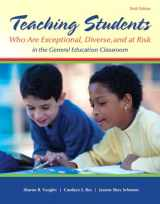 9780133386288-0133386287-Teaching Students Who are Exceptional, Diverse, and At Risk in the General Education Classroom, Video-Enhanced Pearson eText with Loose-Leaf Version -- Access Card Package (6th Edition)
