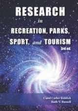 9781571677181-1571677186-Research in Recreation, Parks, Sport & Tourism