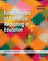 9781118425213-1118425219-Fundamentals of Statistical Reasoning in Education