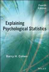9781118436608-1118436601-Explaining Psychological Statistics