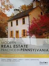 9781475432558-1475432550-Modern Real Estate Practice In Pennsylvania